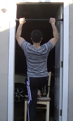 1 Leg Assisted Pull-up