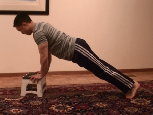 Low Incline Pushup