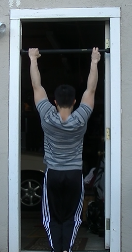 9 Two Finger Pull-up