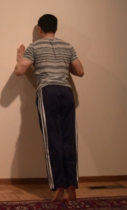 Wall Pushup 2