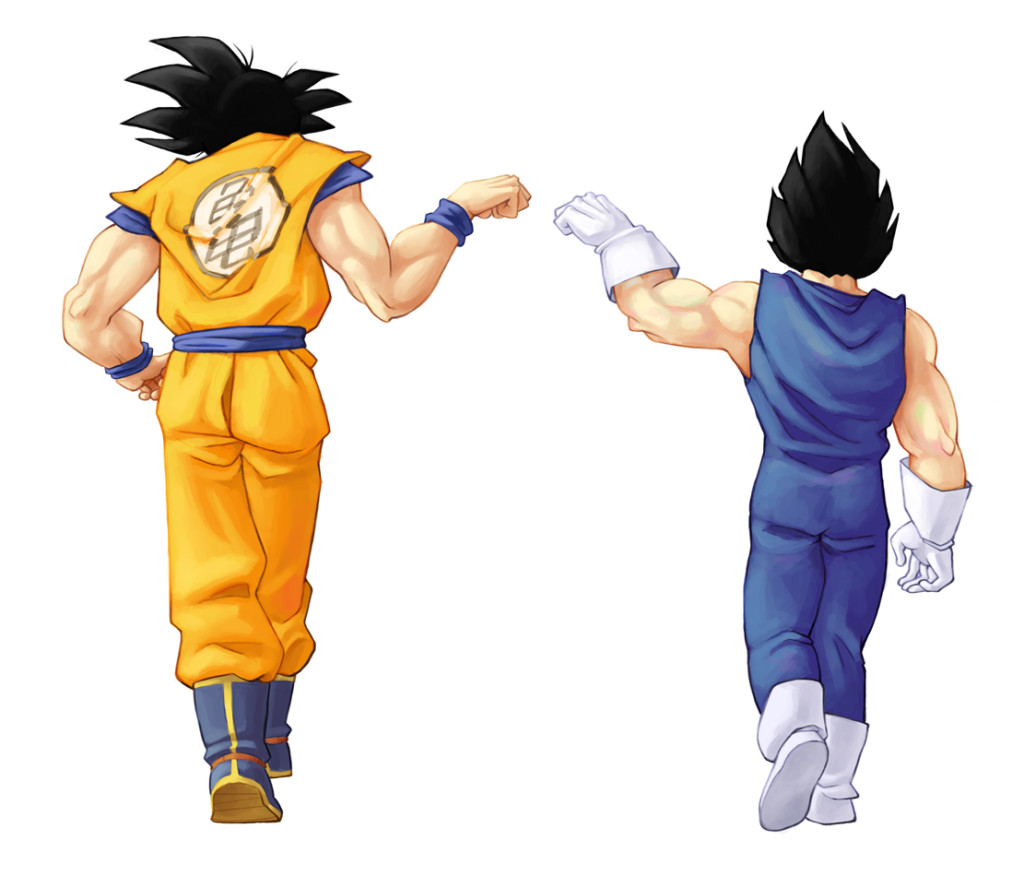 Goku and Vegeta Together