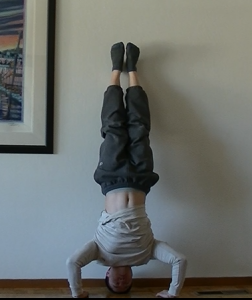 Wall Handstand Push-up